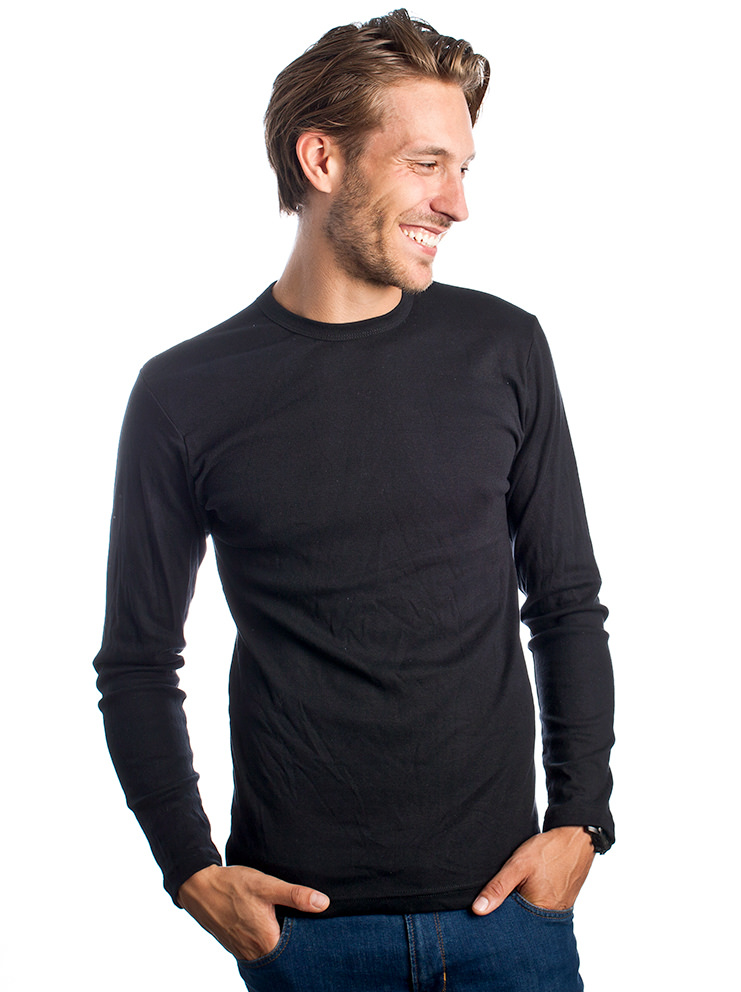 Longsleeve t-shirt met lange mouwen bedrukken