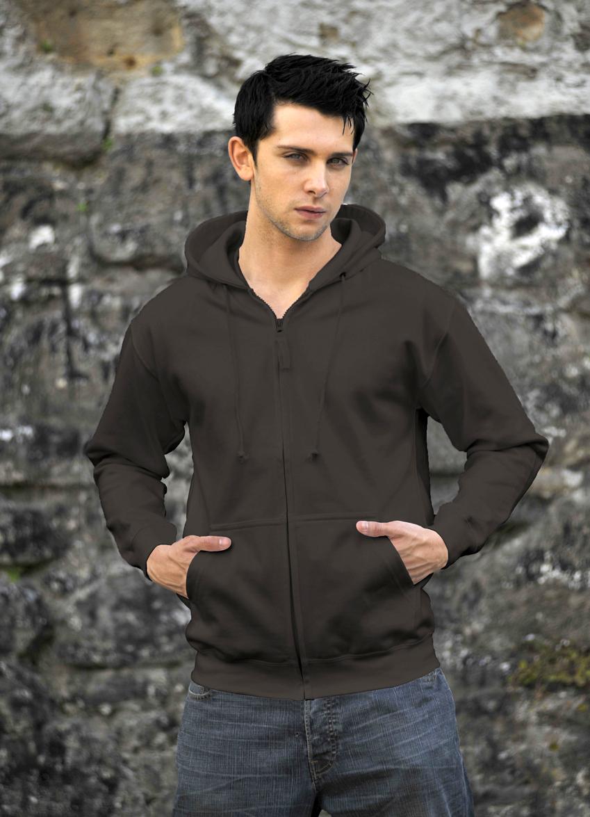 AWDis Zoodie JH050 hoodie Steel Grey