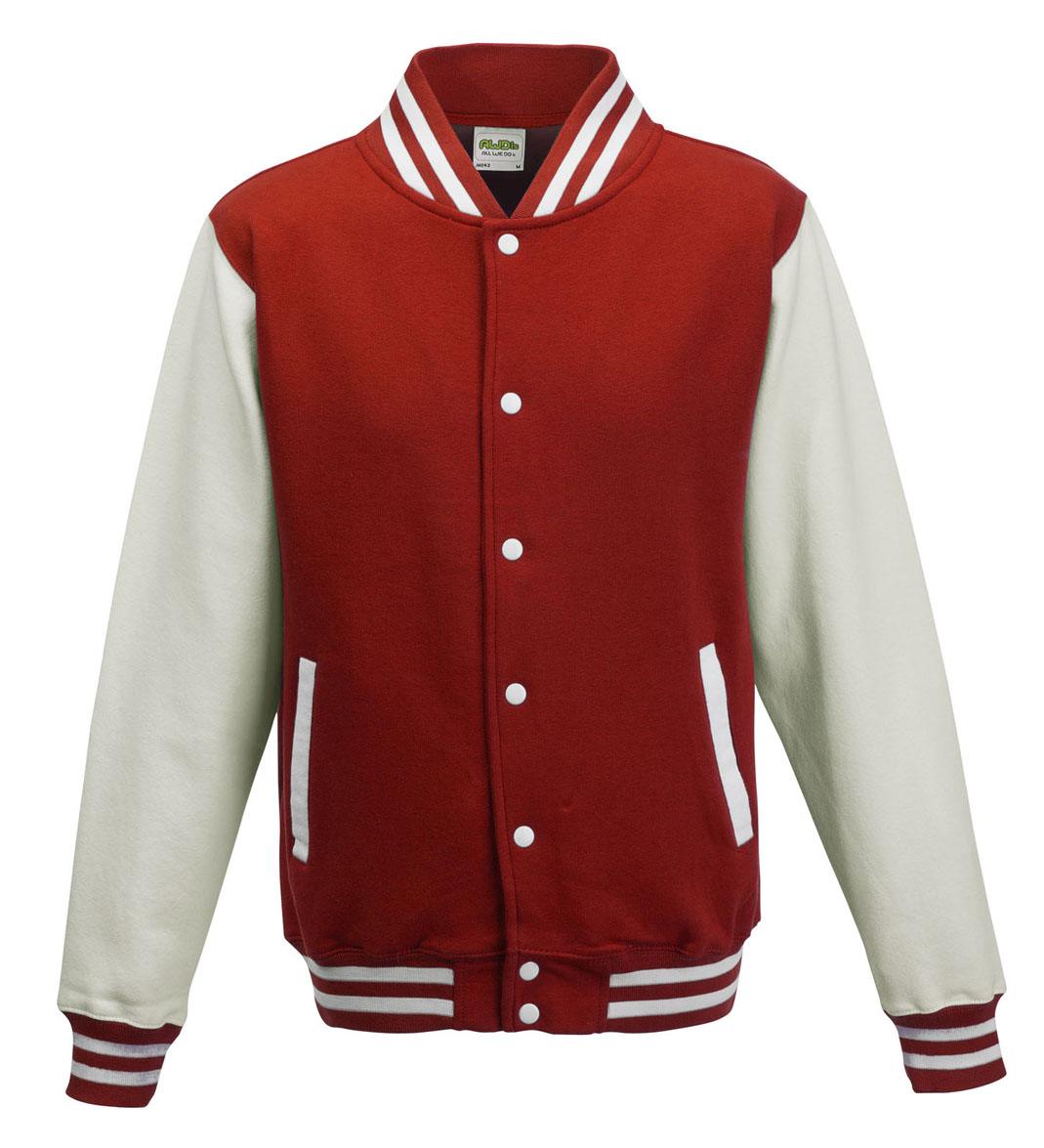 JH043 Fire Red - White