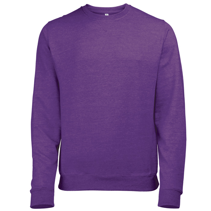AWDis Heather Sweatshirt purple