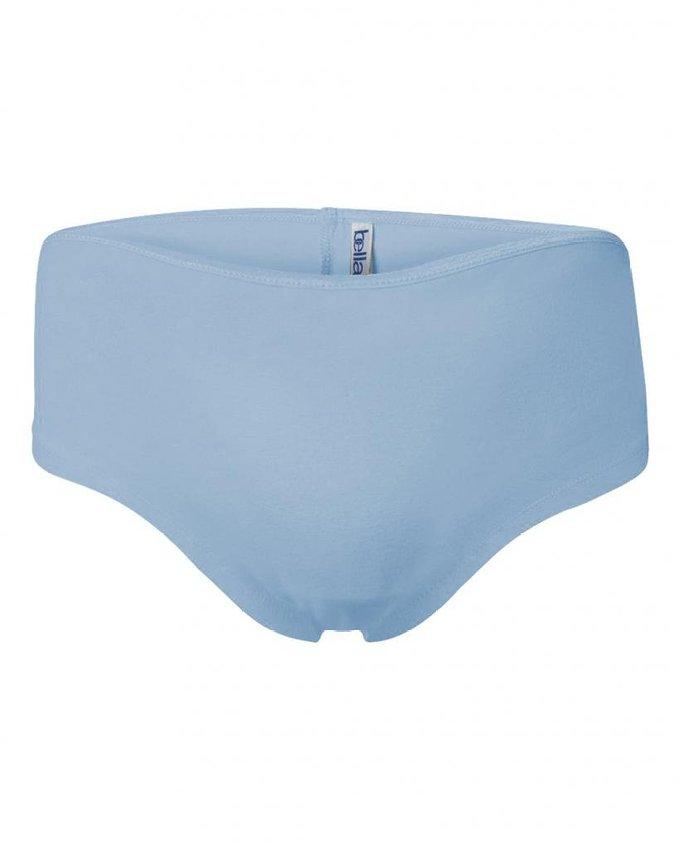 Blauwe hotpants
