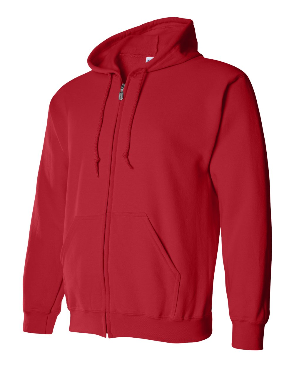 Gildan Heavy Blend Full Zip Hoodie GIL18600 Red