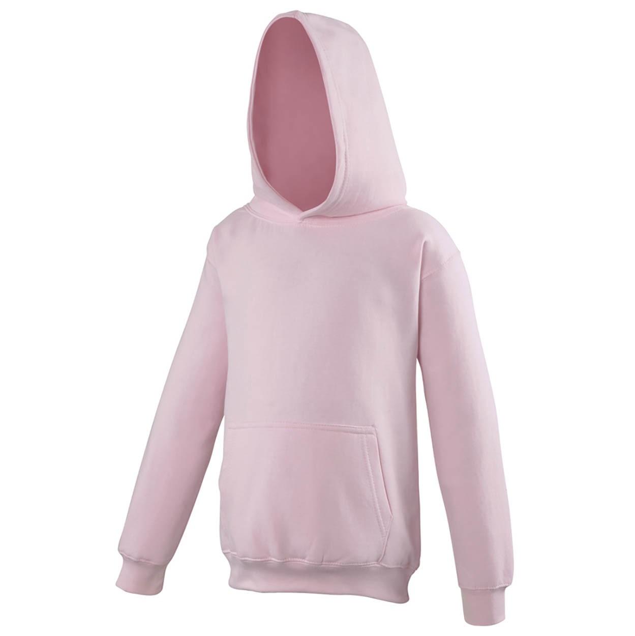 AWDis Hoods Kids Hoodie Sweater Kinderen baby pink