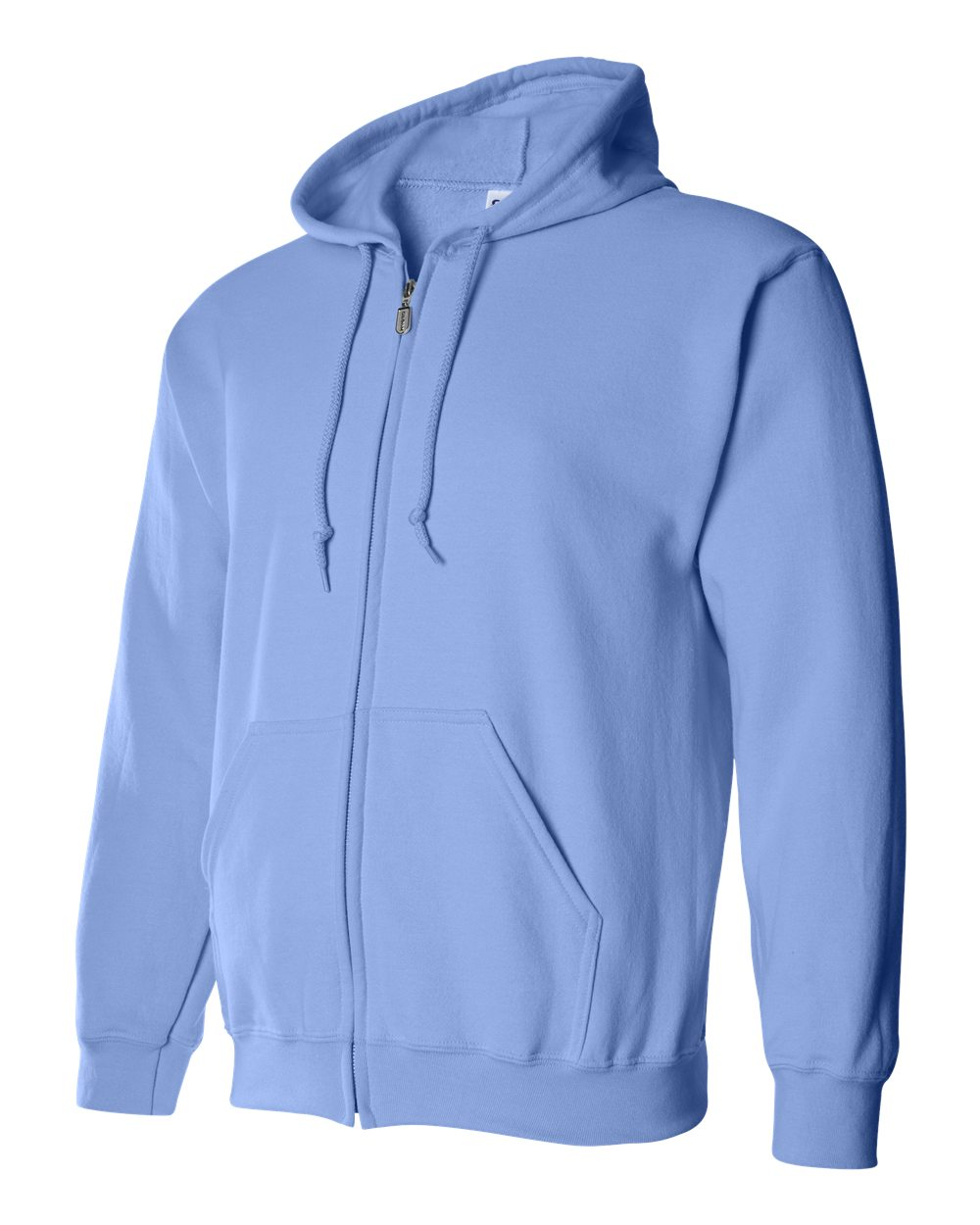 Gildan Heavy Blend Full Zip Hoodie GIL18600 Carolina Blue