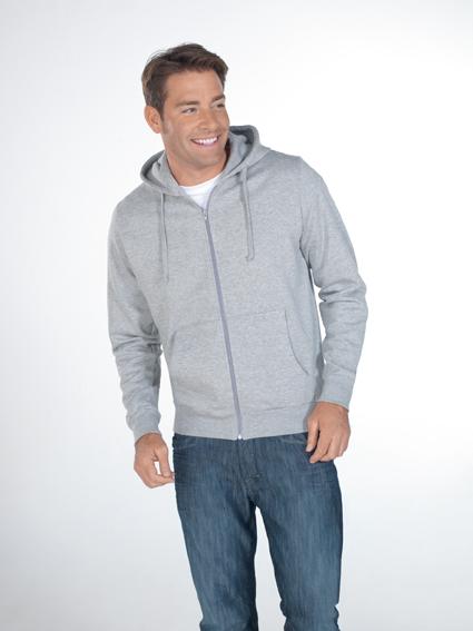 Hanes Beefy Full Zip Hooded Sweater met rits