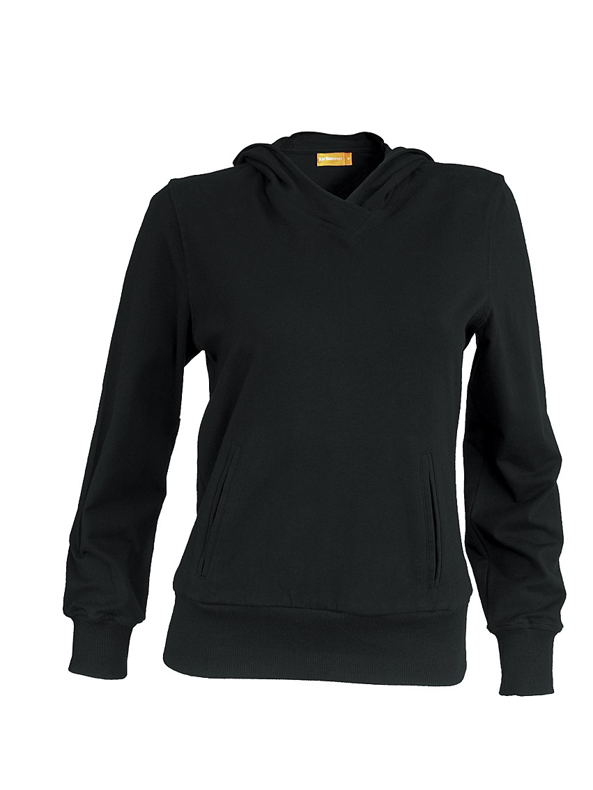 Kariban Ladies Hooded Sweat KS304 Black