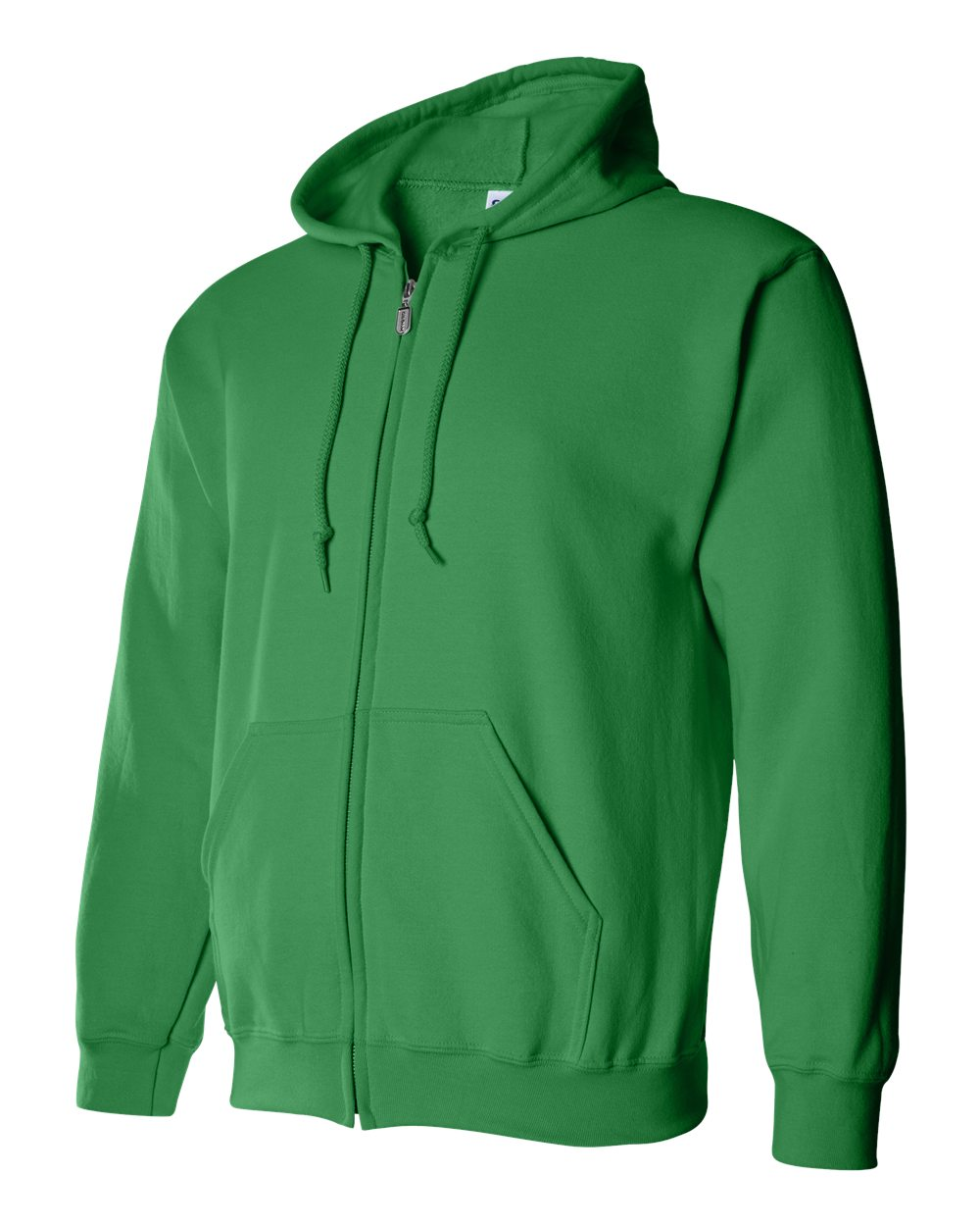 Gildan Heavy Blend Full Zip Hoodie GIL18600 Irish Green