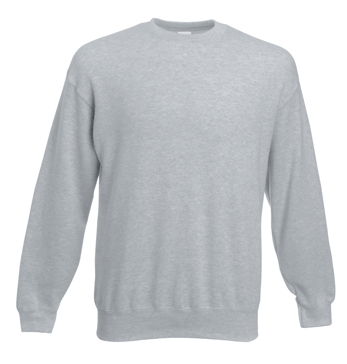 Fruit of the Loom Set-In Sweater 622020 Heather Grey