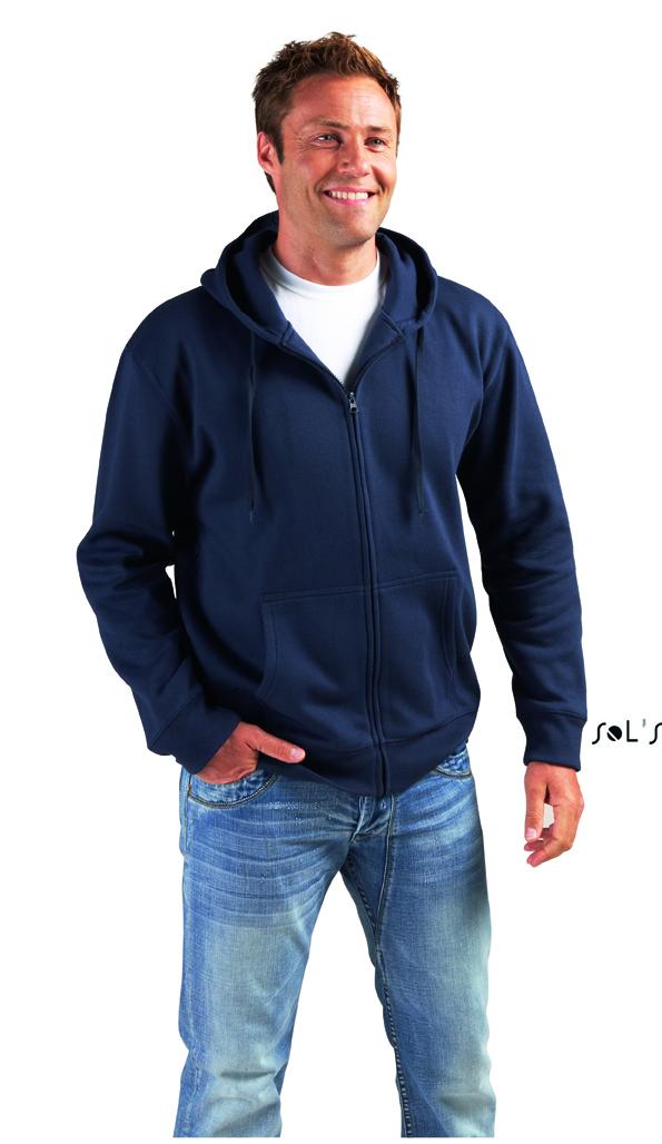 Sols Seven Men Zip Hoodie Sweater met rits