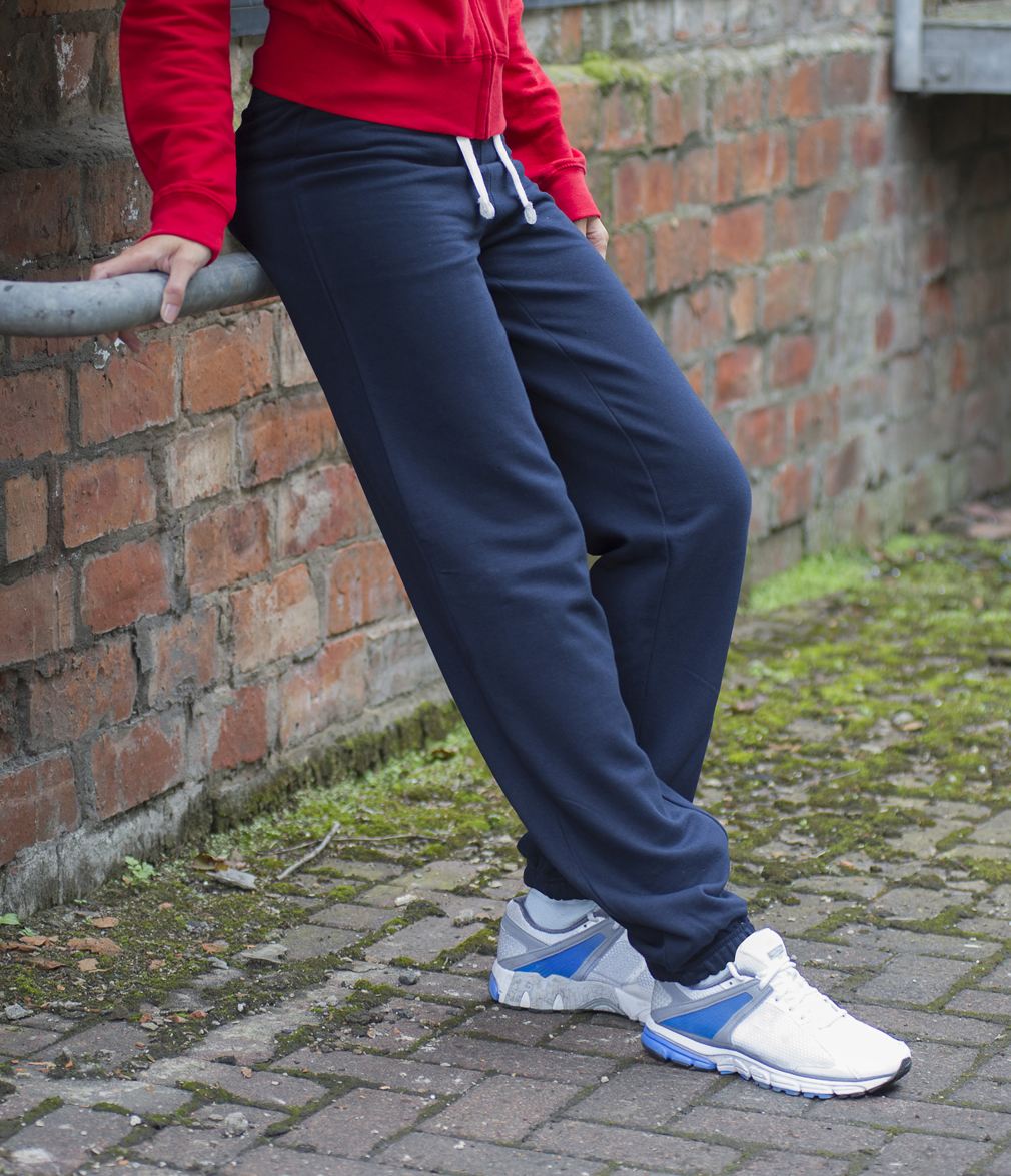 AWDis Girlie Cuffed Dames Joggingbroek JH076 New French Navy