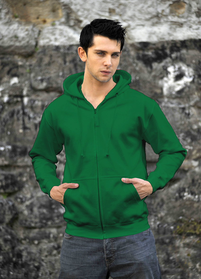 AWDis Zoodie JH050 hoodie Kelly Green