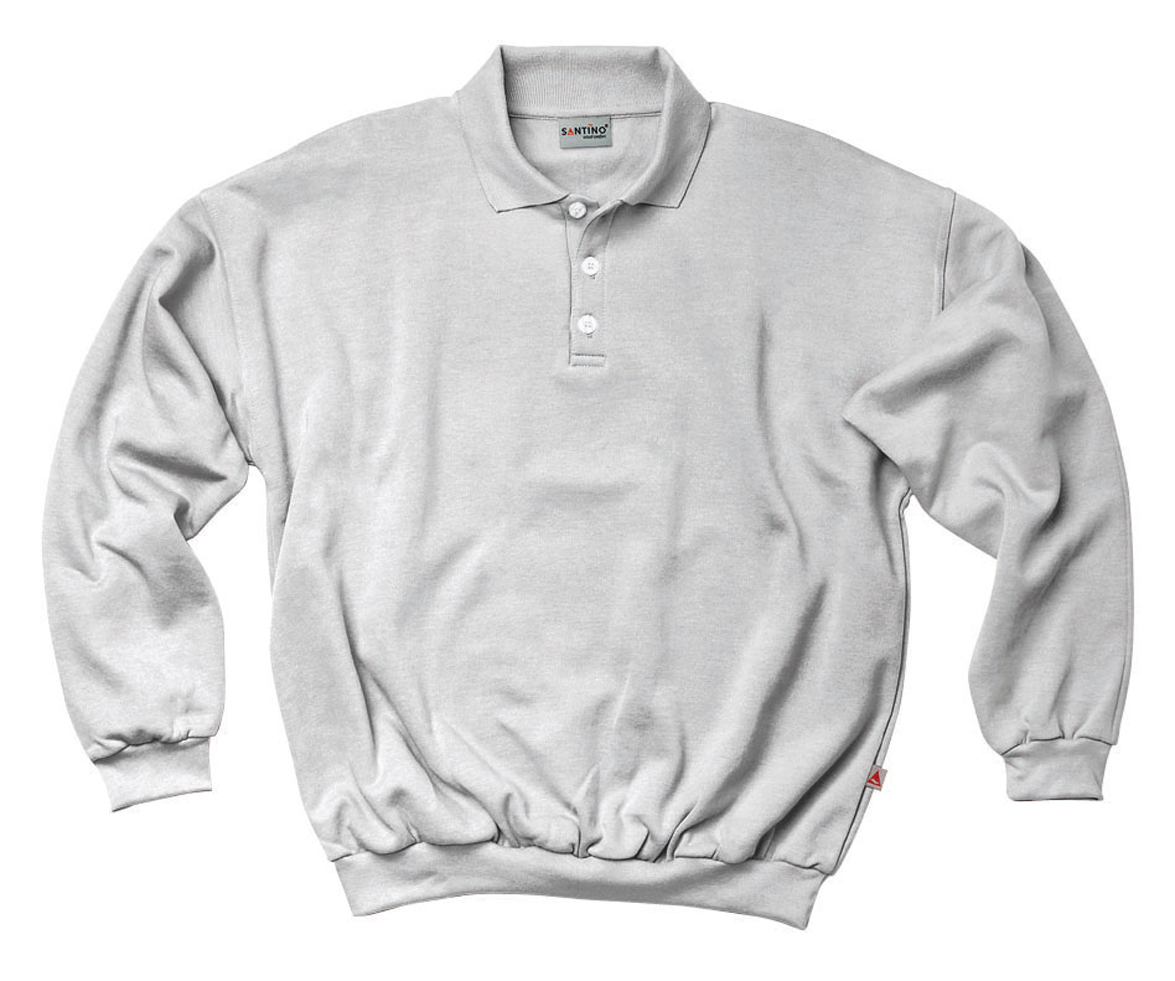 Santino Polo sweater Robin Ash Grey