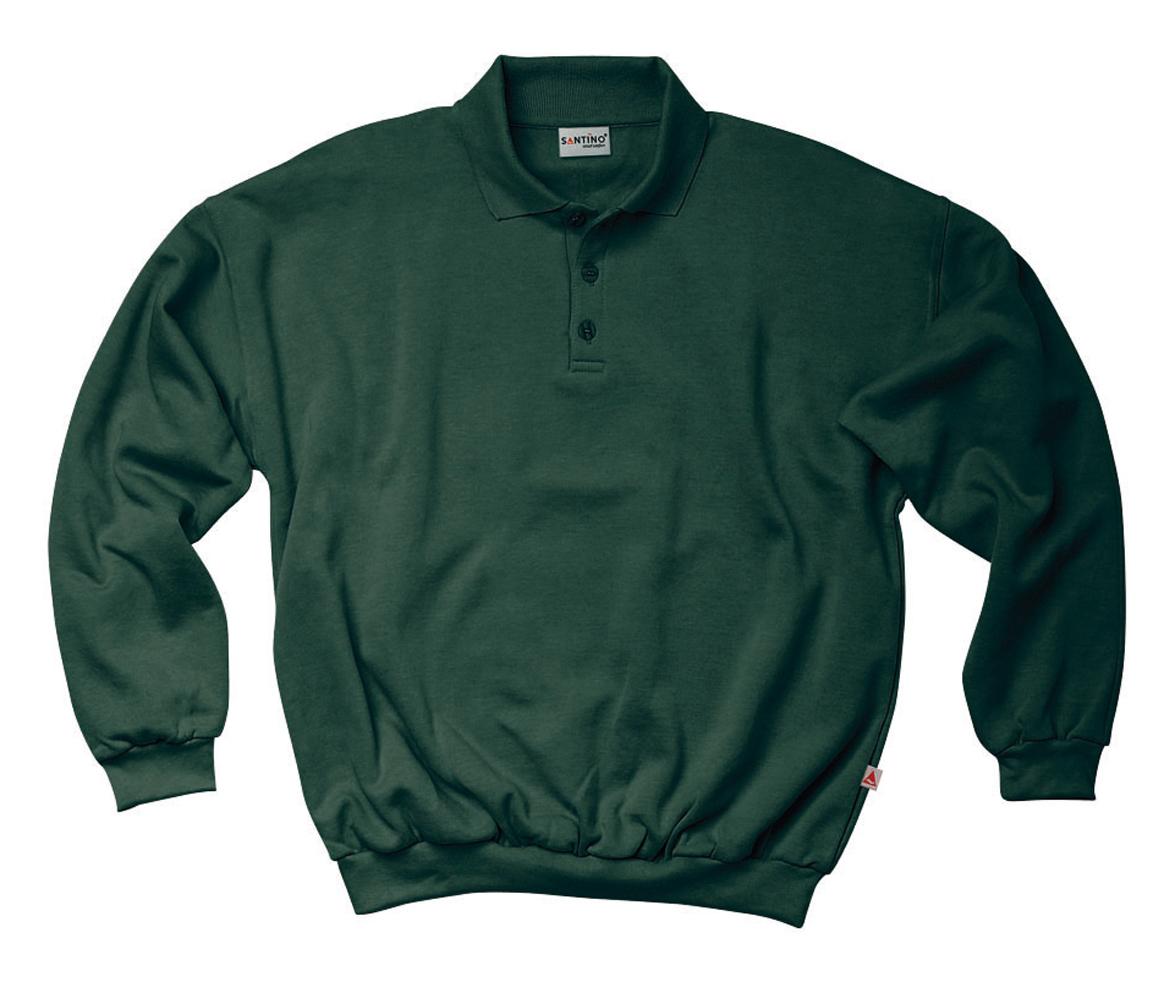 Santino Polo sweater Robin Donkergroen
