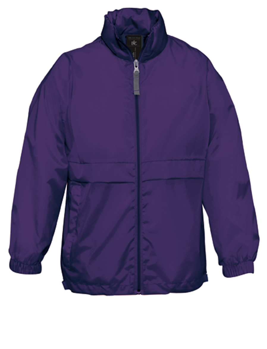Sirocco Windbreaker Purple