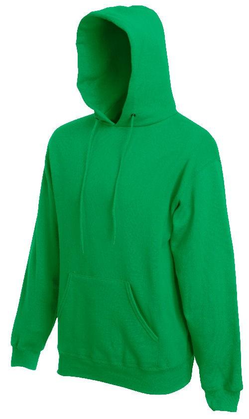 Fruit of the Loom hoodie sweater SC244C Kelly Green