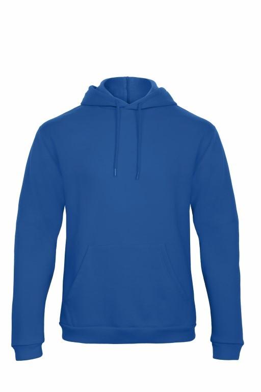 B&C hoodie royal blue