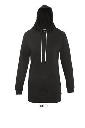 Sols Street Longline Lady Hooded Sweater