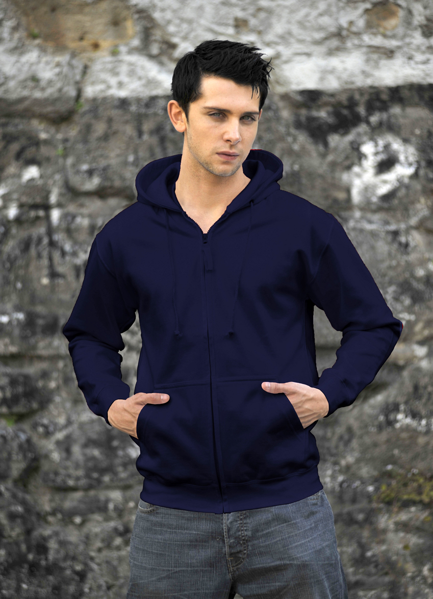 AWDis Zoodie JH050 hoodie New French Navy
