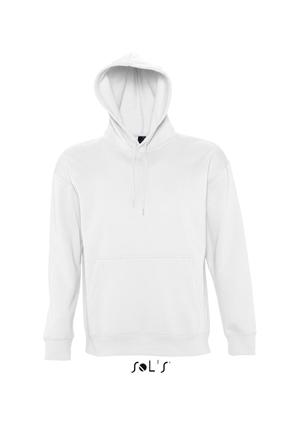 Sols Slam Unisex Hooded Sweater White