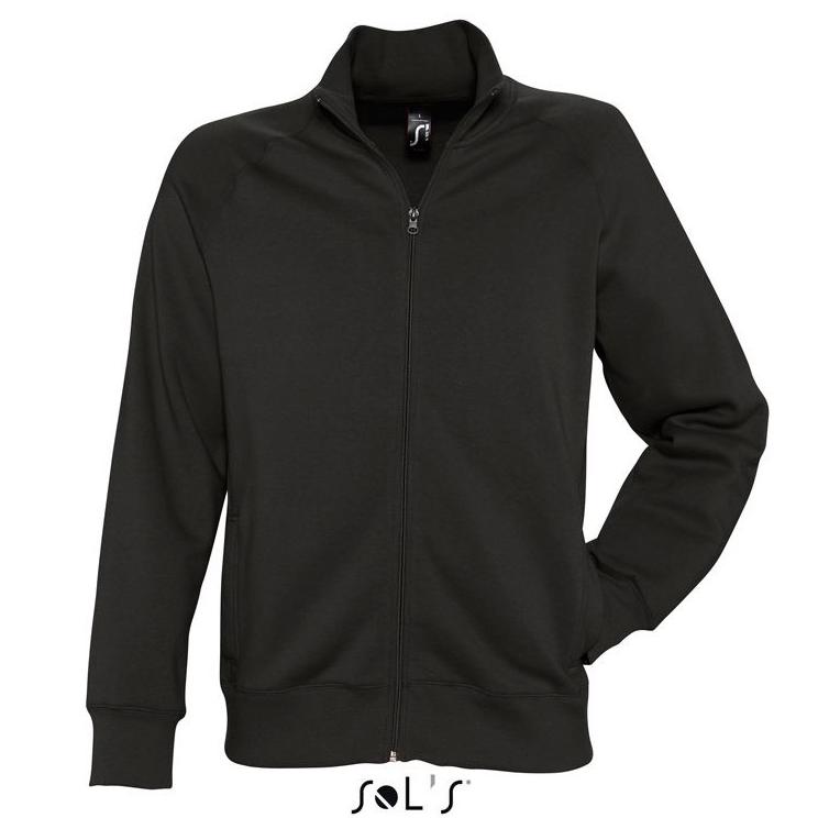 Sols Sundae Unisex Zip Sweater black
