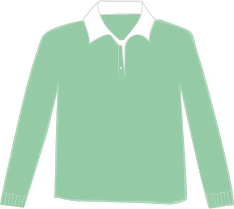 LEM3215 Ice Green - White