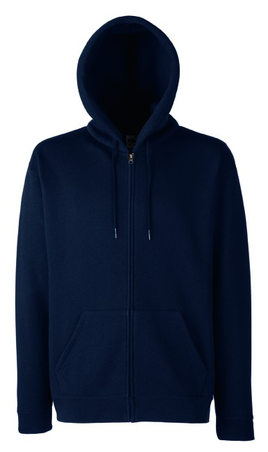 Fruit of the Loom Zip hoodie sweatshirt SC361C Deep Navy