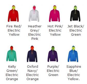 AWDis Hoods Superbright hoodie alle kleuren