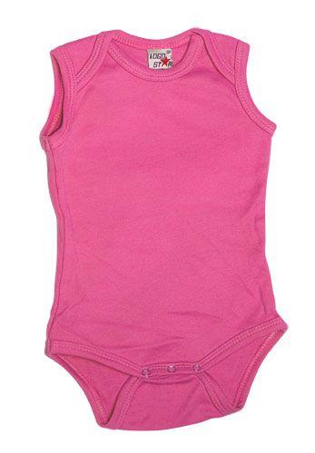 Sleeveless Romper Girls Pink