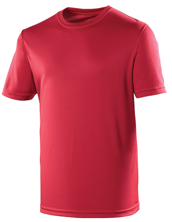 AWDis Just Cool Sportshirt JC001 Red Hot Chillli