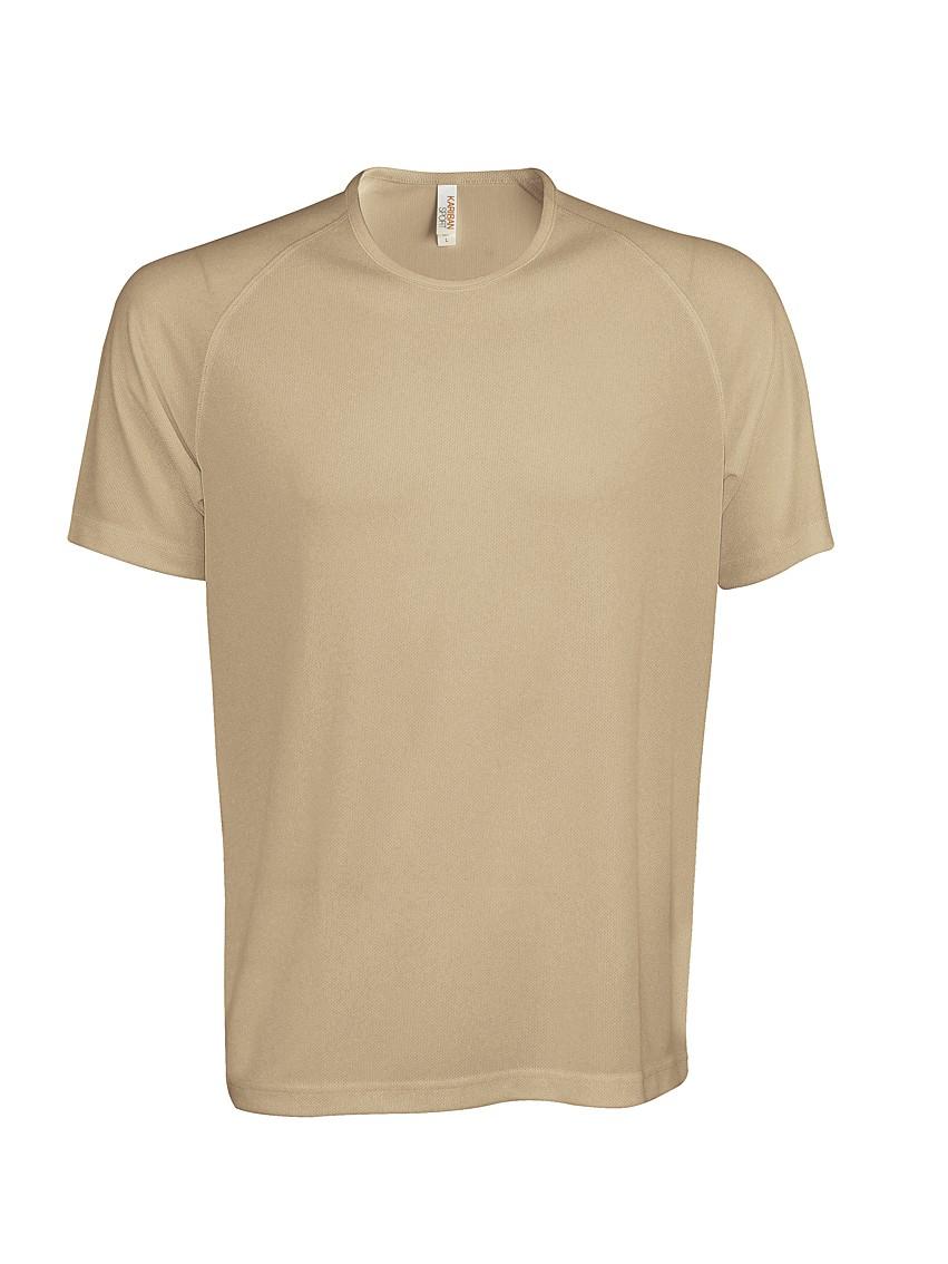 Heren Sport T-shirt KS017 Sand