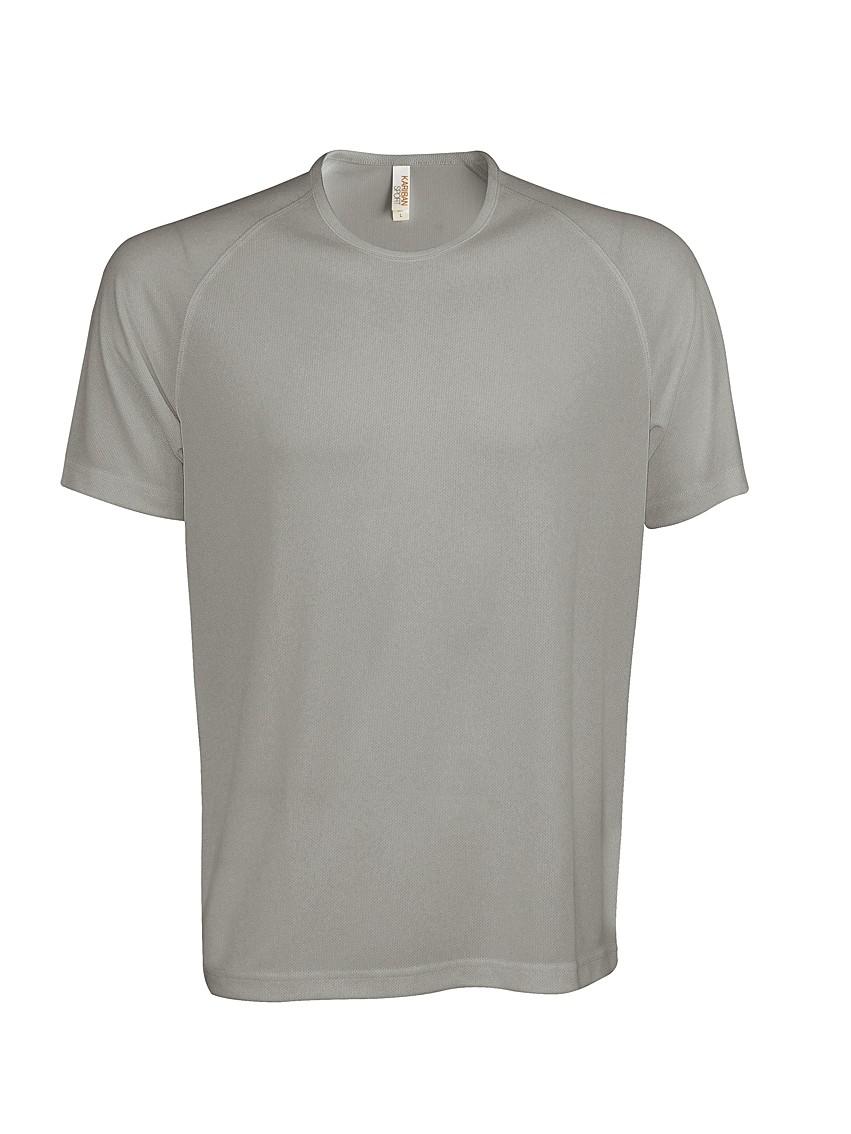Heren Sport T-shirt KS017 Fine Grey