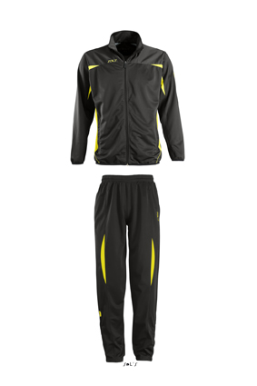 Sols Camp Nou Kids Black - Lemon