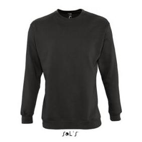 Sols Supreme Unisex Sweater charcoal grey