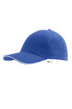 Sols Buffalo Royal Blue - White