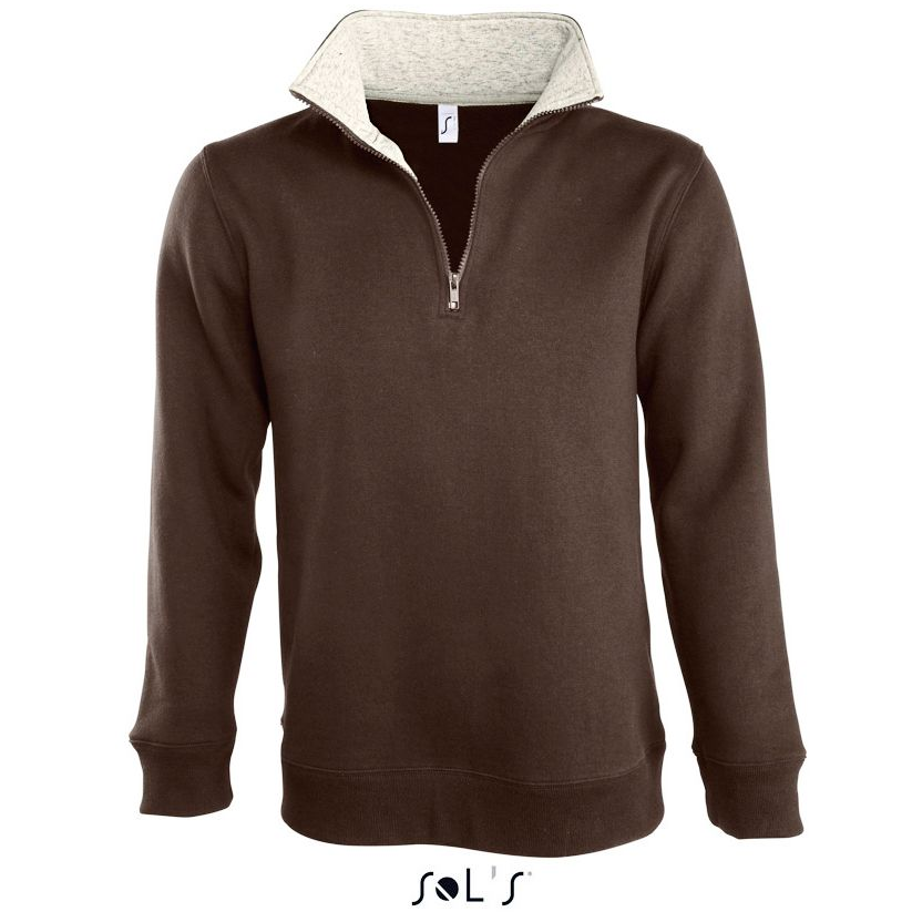 Sols Scott Unisex Sweatshirt choco