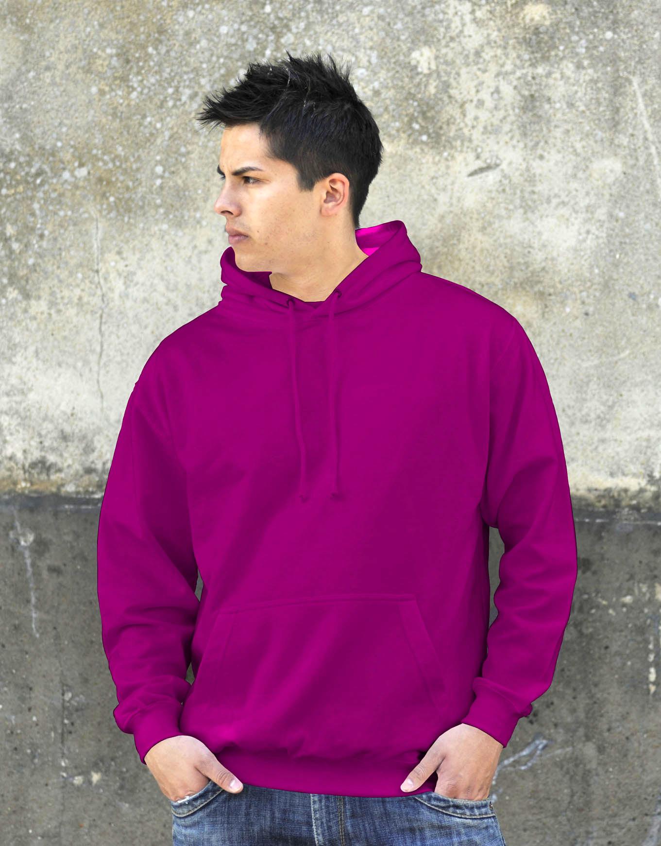 AWDis College Hoodie Pinky Purple
