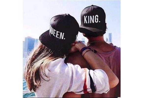 King and Queen pet cap