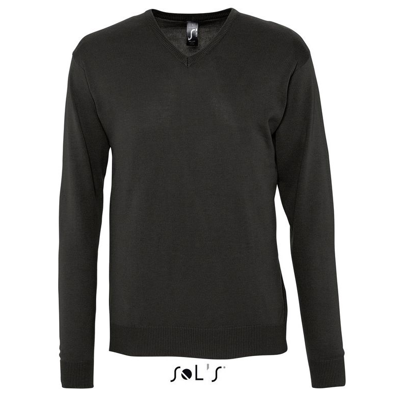 Sols Galaxy Men V-hals Sweater black