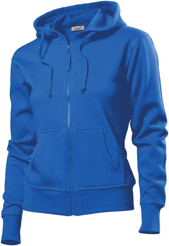 Hanes Spicy dames hoodie 6510 Royal Blue