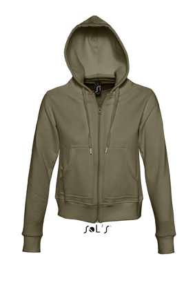 Sols Success Zip Hoodie sweater Army