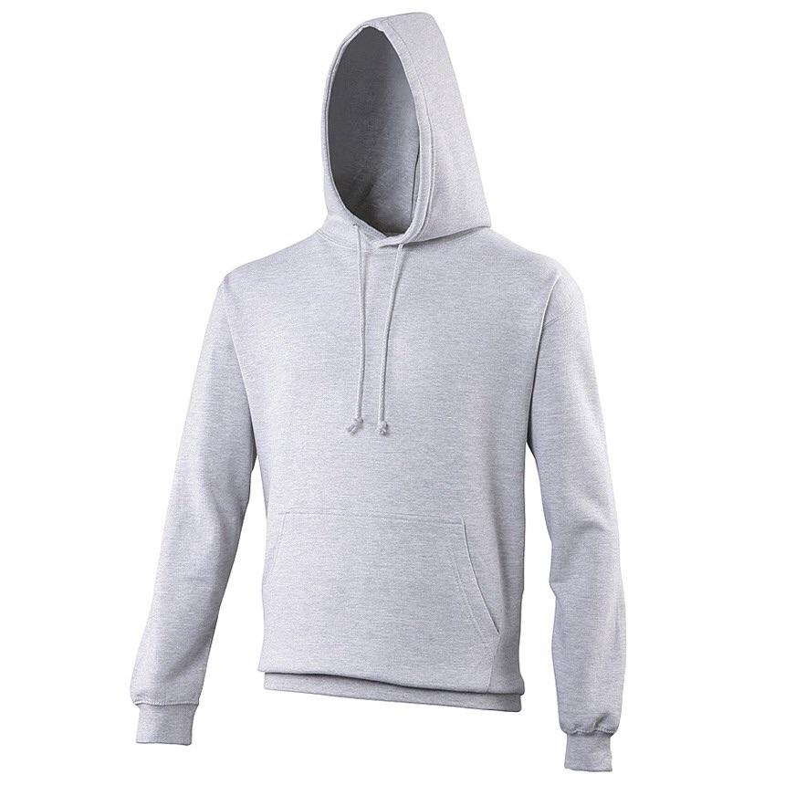 AWDis JH001 College hoodie Grijs