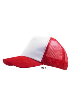 Sols Bull White - Red
