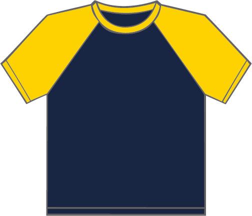 K330 Navy - Yellow