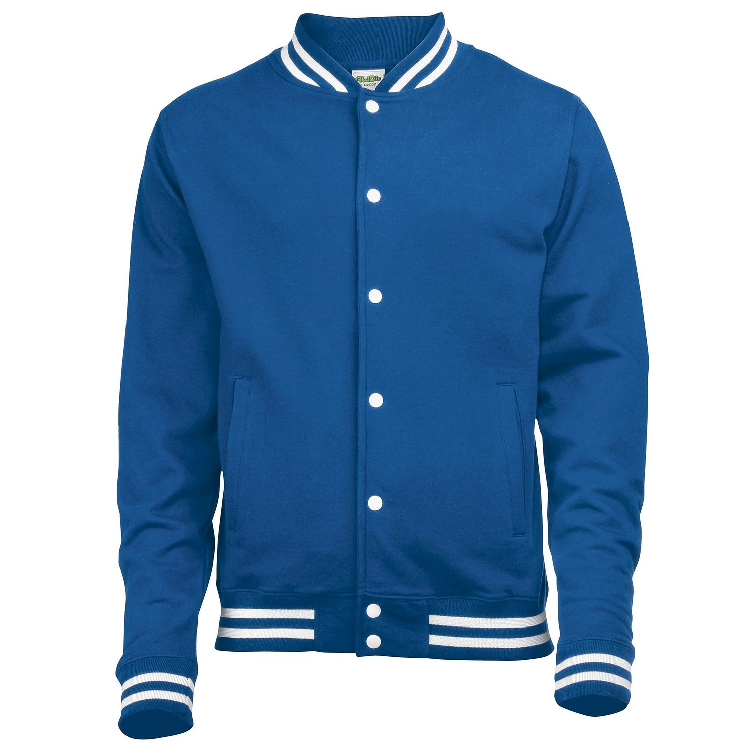 AWDis College Jacket royal blue