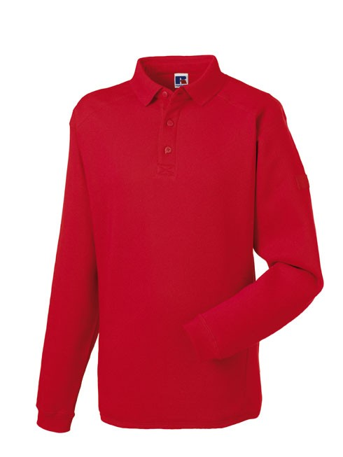 Russell Workwear Polo sweater RU012M Red