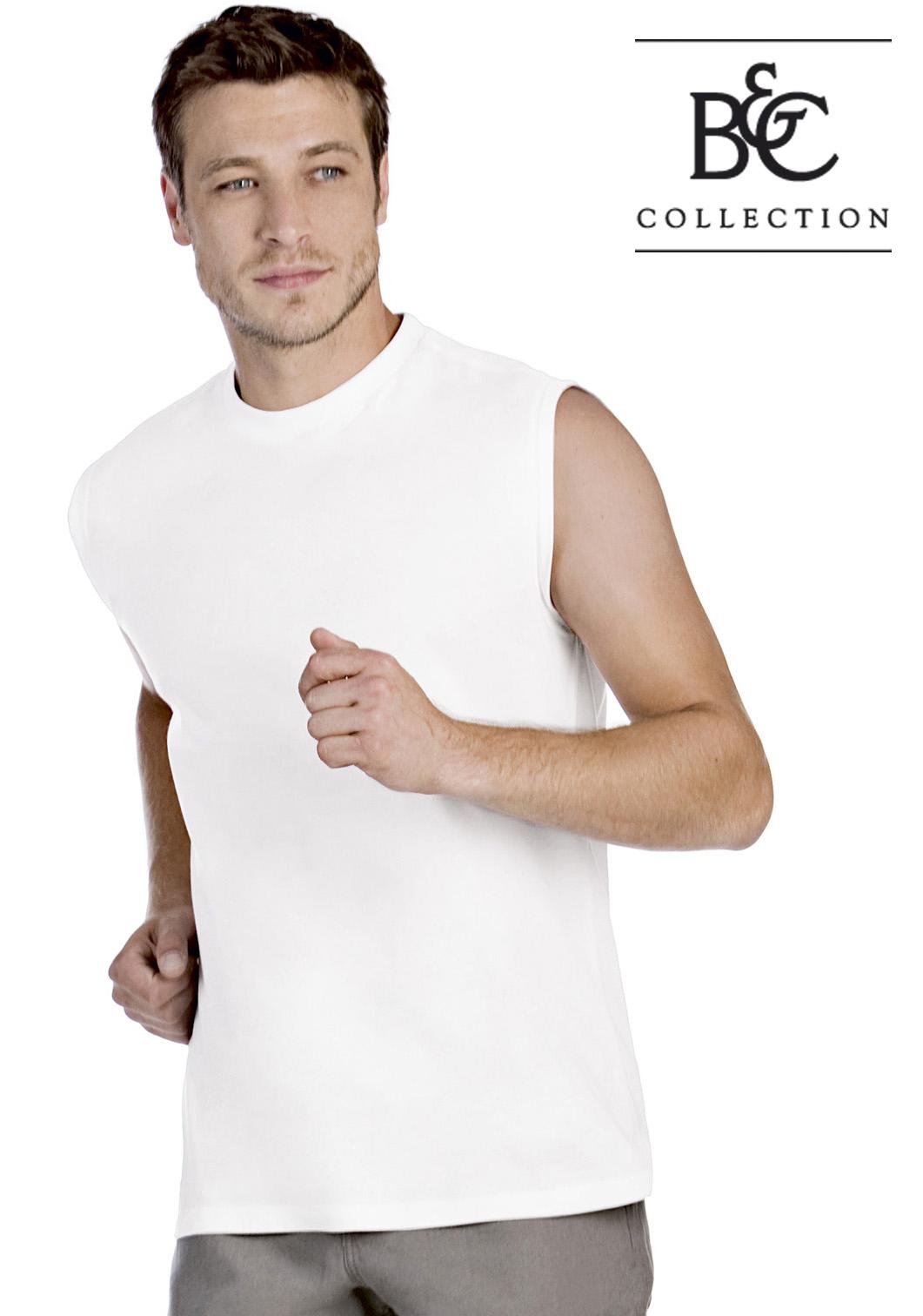 Mouwloos heren T-shirt