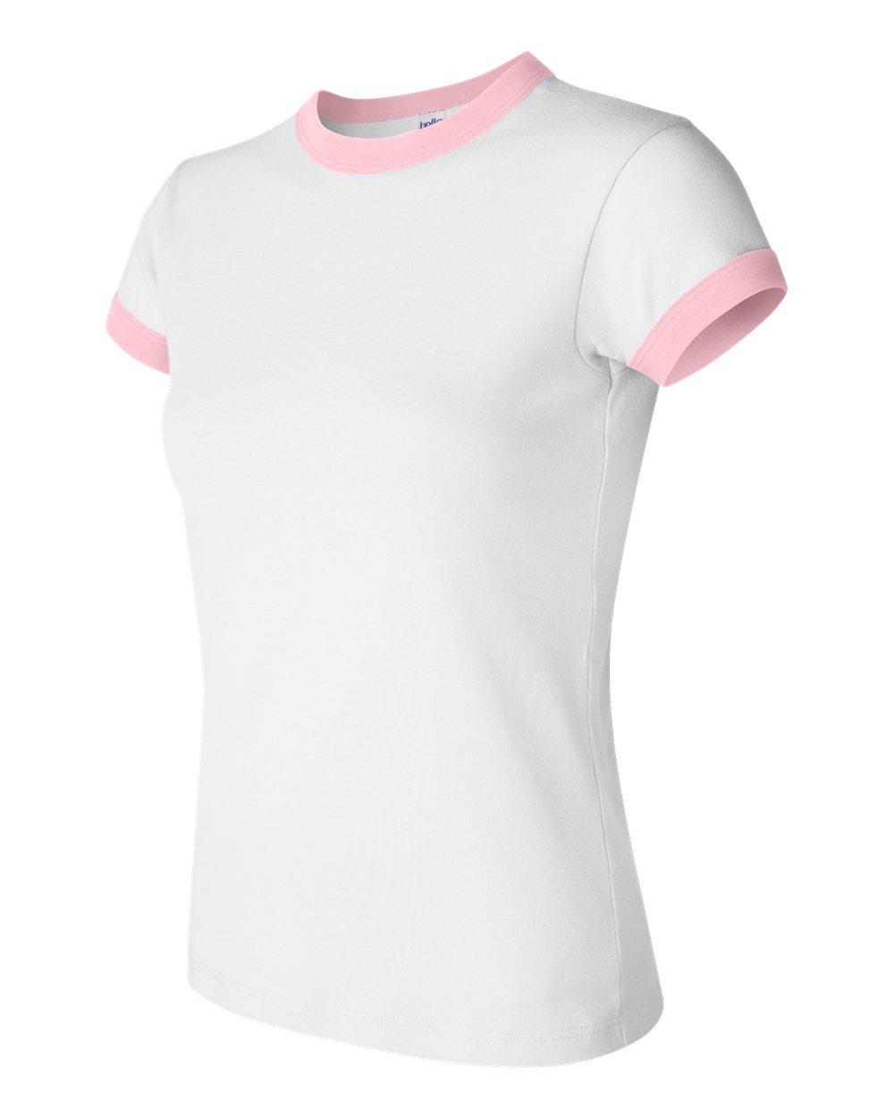 Bella 1007 White - Pink