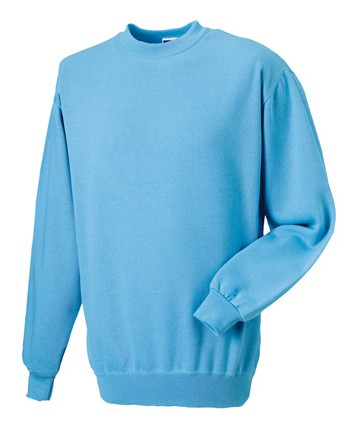 Russell Set-in Sleeve Sweatshirt RU262M Sky Blue