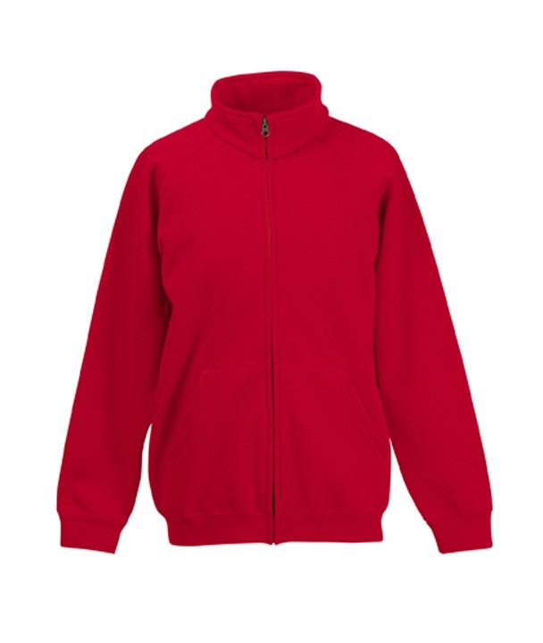 FotL Kids Sweat Jacket Red