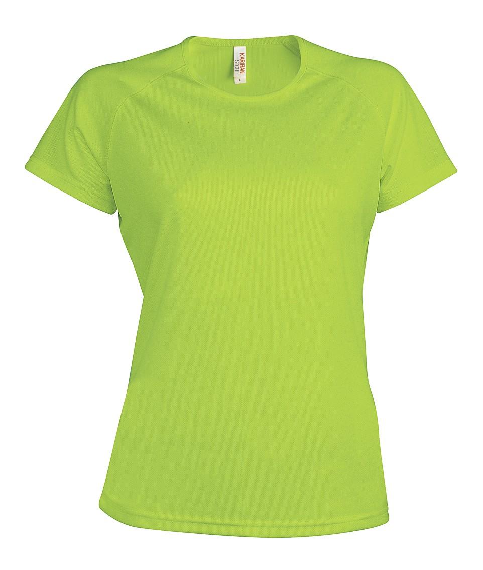 Heren Sport T-shirt KS030 Lime